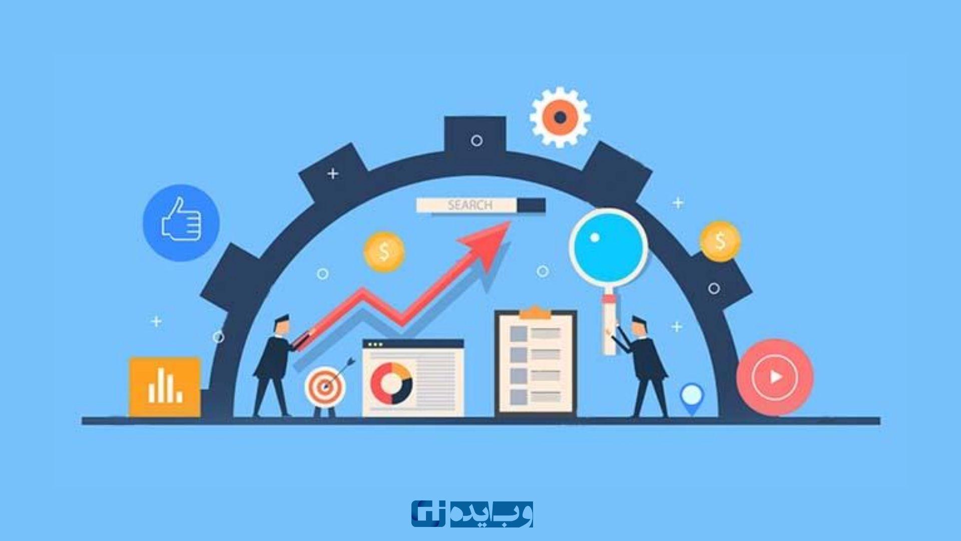 اعتماد، قدرت و رتبه سایت در بین سایتهای دیگر